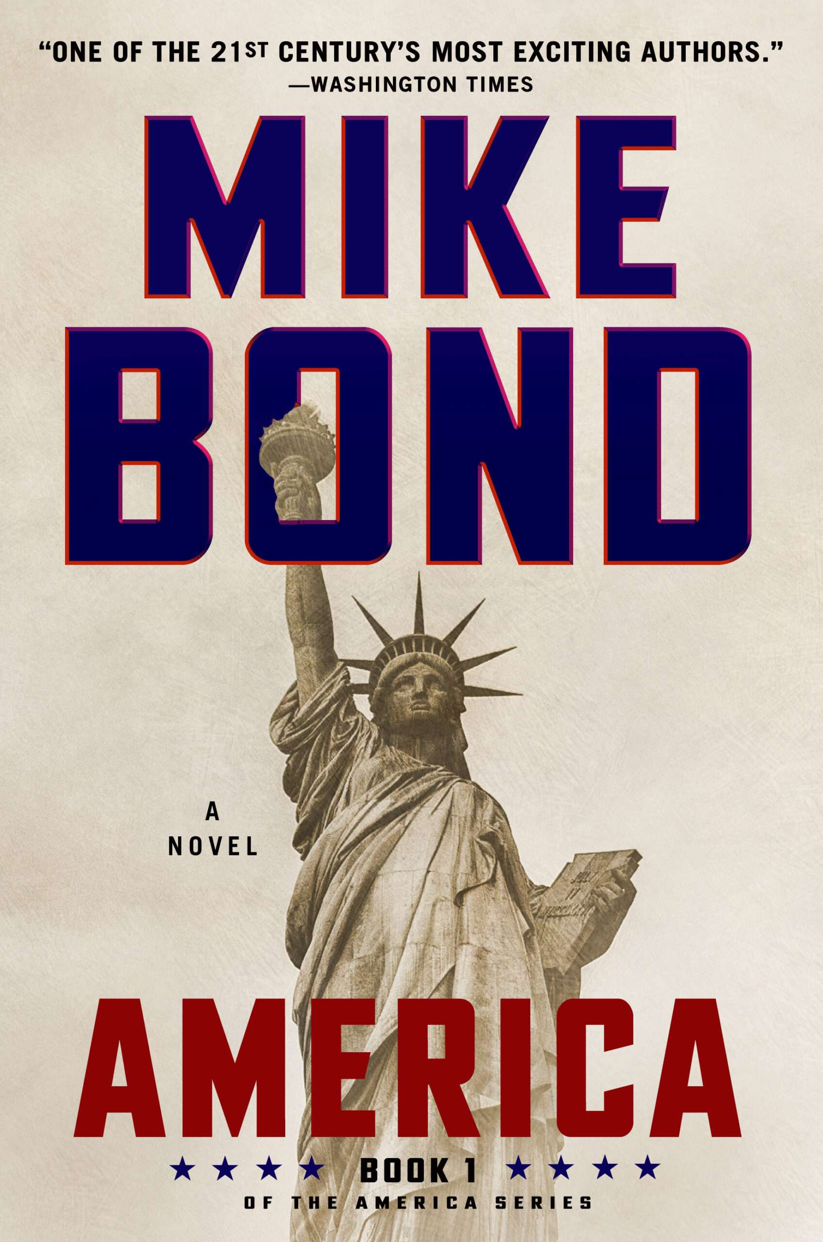 America - Front Cover - Mike Bond Books